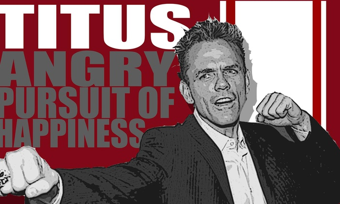 Tommy T's Comedy Steakhouse Pleasanton - Val Vista: Comedian Christopher Titus at Tommy T's Comedy Steakhouse Pleasanton
