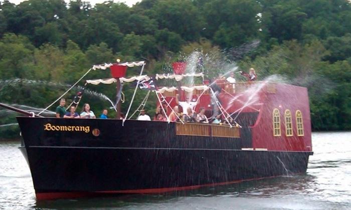 Boomerang Pirate Ship - Boomerang Boat Tours: Family Fun Treasure Hunt Cruise