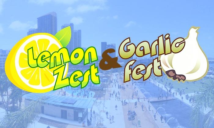 San Diego Waterfront Park - Central San Diego: Lemon Zest & Garlic Fest at San Diego Waterfront Park