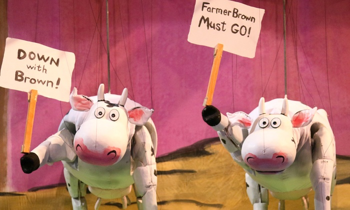 Center for Puppetry Arts - Midtown: Click, Clack, Moo: Cows That Type at Center for Puppetry Arts