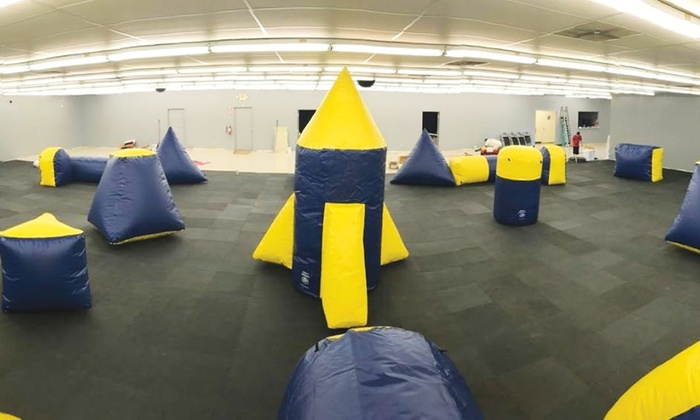 Dart Town Arena - Chattanooga: $24 for One Hour of Play for up to 4 People at Dart Town Arena (Reg. $48)