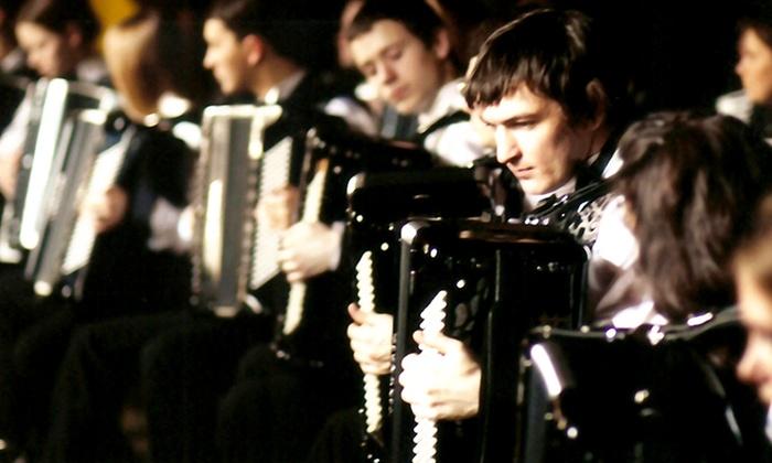 Wortham Theater Center - Cullen Theater - Houston: Accordion Virtuosi of Russia at Wortham Theater Center - Cullen Theater