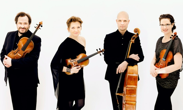 Mandel Hall - South Side: Artemis Quartet at Mandel Hall