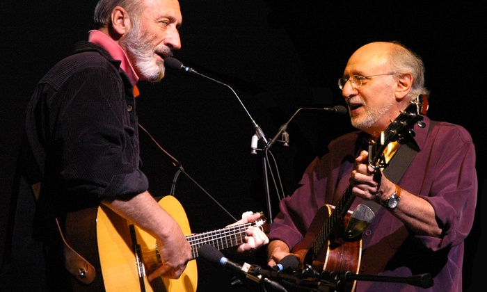Paramount Theatre - Central Business District: Peter Yarrow & Noel Paul Stookey at Paramount Theatre