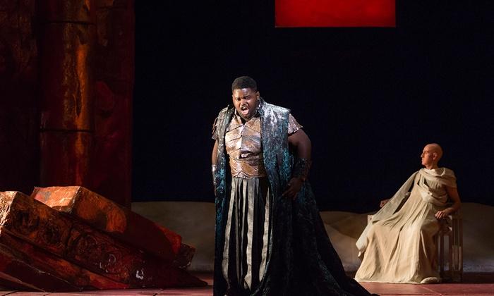 Gerald W Lynch Theatre at John Jay College - Clinton: Vivaldi's Catone in Utica at Gerald W Lynch Theatre at John Jay College