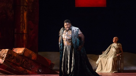 Vivaldi's Catone in Utica at Gerald W Lynch Theatre at John Jay College