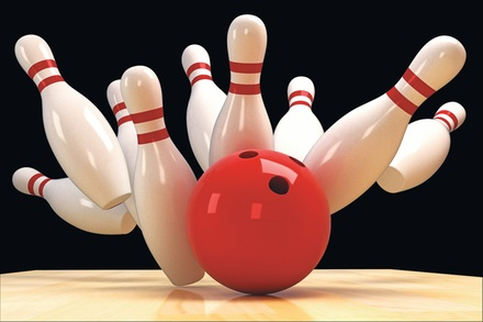 $20 For Bowling Package For 4 People Including 2 Bowling Games, Shoe Rental & Small Soda (Reg. $40)