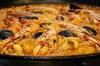 Clase de cocina de paella de marisco