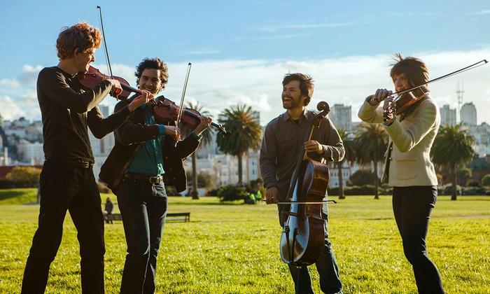 Berkeley City Club - Southside: Berkeley Chamber Performances Presents the Friction Quartet at Berkeley City Club