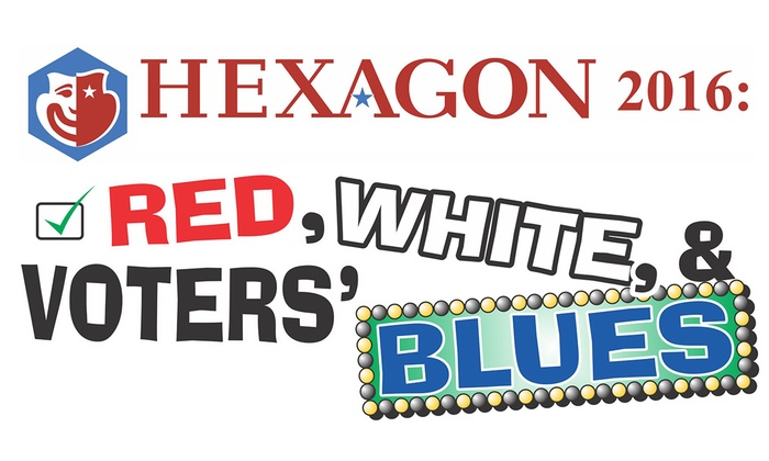 Woodrow Wilson High School Auditorium - AU Park - Friendship Heights - Tenley: Hexagon 2016: Red, White & Voters' Blues at Woodrow Wilson High School Auditorium