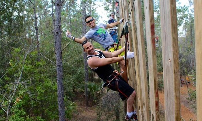 Orlando Tree Trek - Orlando: Orlando Tree Trek Adventure Park