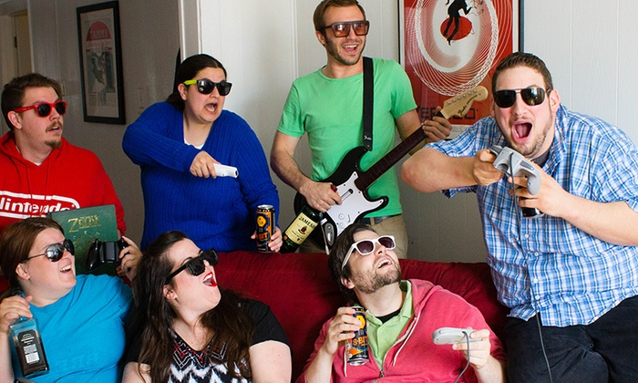 The Cornservatory - Chicago: Drink! The Sketch Comedy Drinking Game: Video Game Edition at The Cornservatory