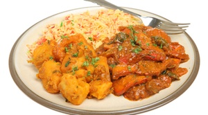 Chola Indian Restaurant: 60% off at Chola Indian Restaurant