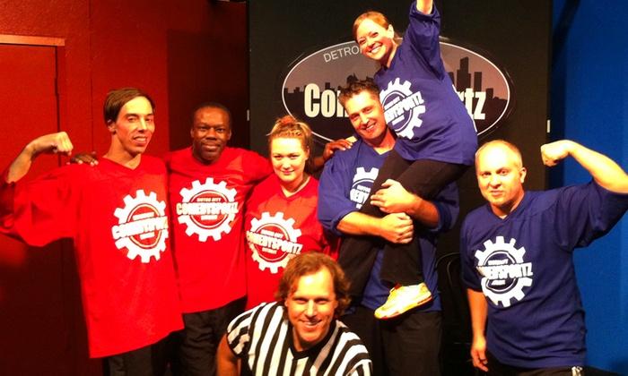Michigan Actors Studio Theatre  - Ferndale: ComedySportz Detroit at Michigan Actors Studio Theatre