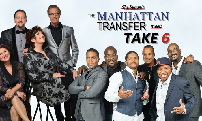 Mayo Performing Arts Center - Mayo Performing Arts Center: The Summit: The Manhattan Transfer Meets Take 6 at Mayo Performing Arts Center
