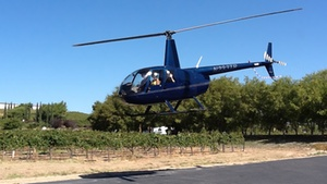 Temecula Wine Country Morning Helicopter and Hot Air Balloon Rides: Temecula Wine Country Helicopter at Temecula Wine Country Morning Helicopter and Hot Air Balloon Rides