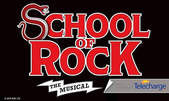 Winter Garden Theatre - Theater District: School of Rock at Winter Garden Theatre