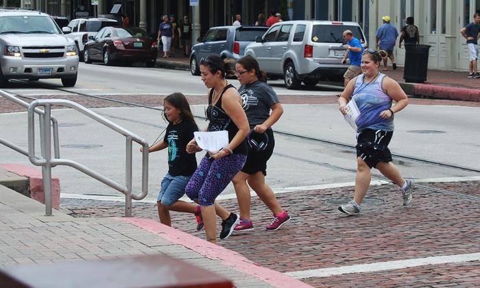 Pier 21 - Downtown Galveston: Fantastic Galveston Race