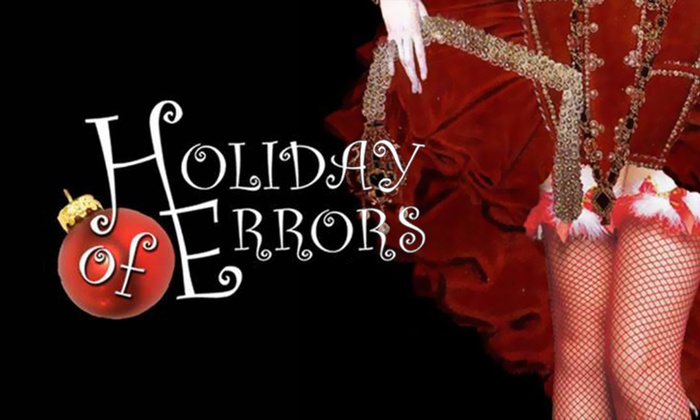 12th Ave Arts  - Capitol Hill: Holiday of Errors at 12th Ave Arts