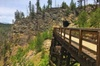 Bicyle Tour on Historical Kettle Valley Railway from Myra Canyon to...