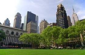 Bryant Park Parking Deals at ParkWhiz - Bryant Park, plus Up to 6.0% Cash Back from Ebates.