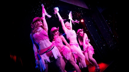 The Lalas Burlesque Show at The Federal Bar Long Beach
