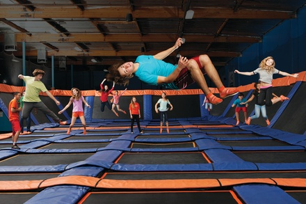 $17 For 1-Hour Jump Passes For 2 (Reg. $34)
