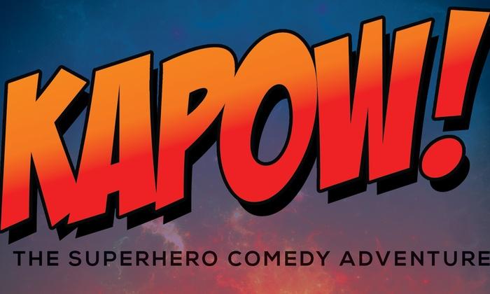 Blacktop Comedy Theater - Blacktop Comedy: KAPOW! The Superhero Comedy at Blacktop Comedy Theater