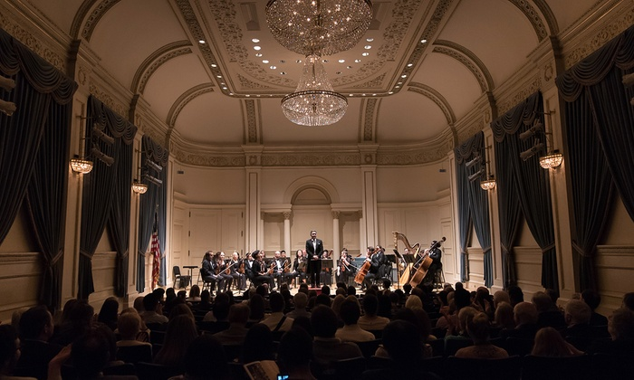 Weill Recital Hall at Carnegie Hall - Theater District: Chamber Orchestra of New York Plays Gershwin & Tchaikovsky at Weill Recital Hall at Carnegie Hall