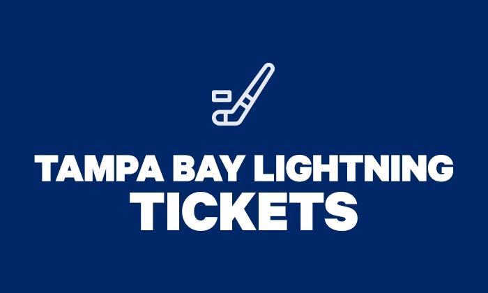 8d432ee5 Tampa Bay Lightning Tickets