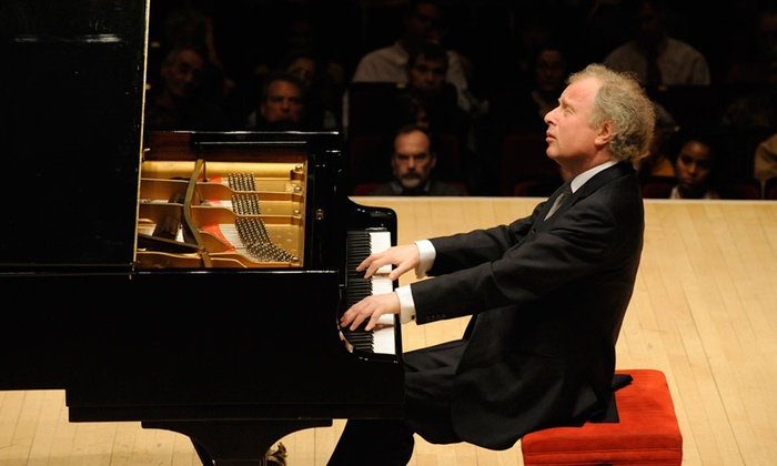 Davies Symphony Hall - Davies Symphony Hall : Pianist/Conductor András Schiff at Davies Symphony Hall