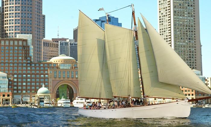 Schooner Adirondack III - Boston - Downtown: Classic Day Sail Aboard Adirondack III