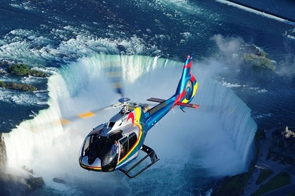 Niagara Falls Canada Tour + Helicopter Ride and Skylon Tower Lunch photo