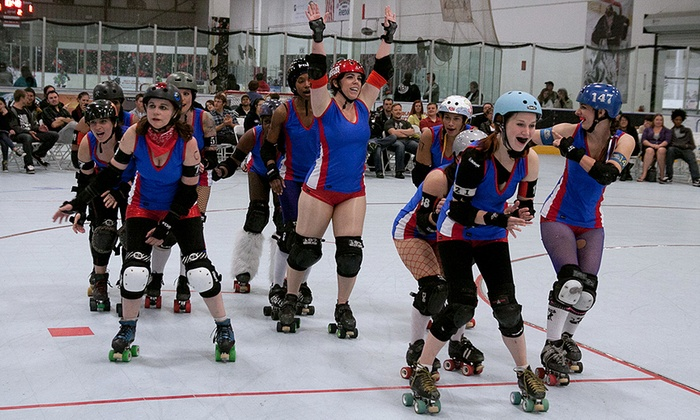 The Rinks - The Rinks - Huntington Beach Inline: OC Roller Girls Flat Track Roller Derby