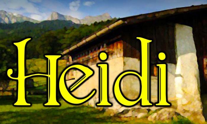 Provision Theater - University Village - Little Italy: Heidi at Provision Theater