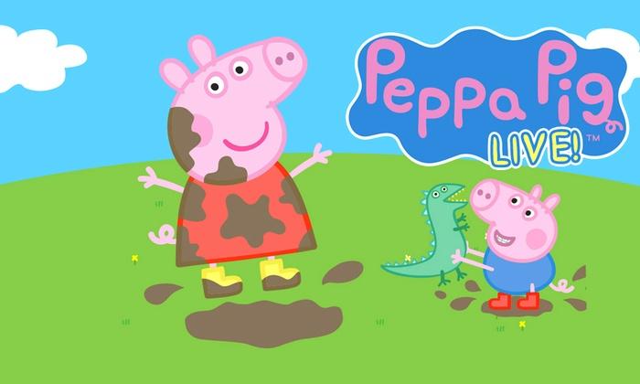 Maverik Center - Maverik Center: Peppa Pig Live! Peppa Pig's Big Splash! at Maverik Center