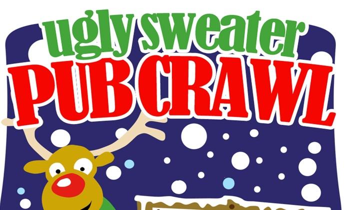 Bar None - Greenwich Village: Ugly Sweater Pub Crawl New York City at Bar None
