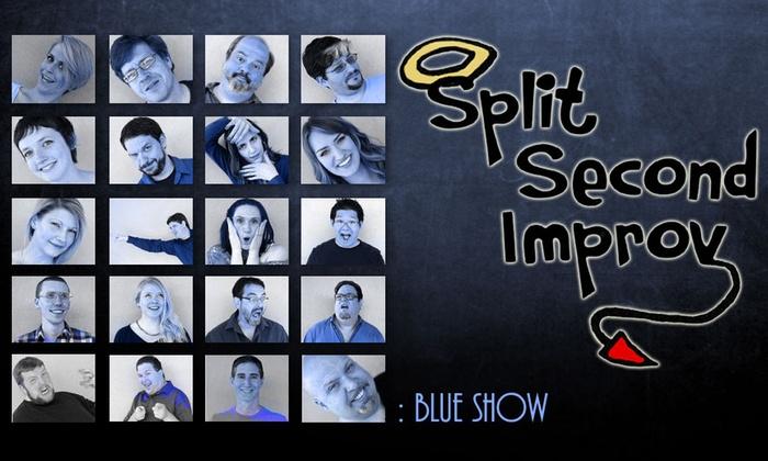 SecondStory Hideaway - Downtown Redmond: Split Second Improv: Blue Show at SecondStory Hideaway