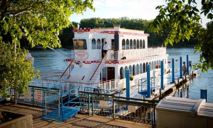 Bohemian Flats Port - Cedar-Riverside: Friday Night Dinner Cruise on the Minneapolis Queen