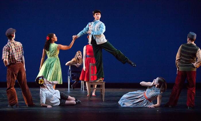 Moore Theatre - The Moore Theatre: Mark Morris Dance Group at Moore Theatre