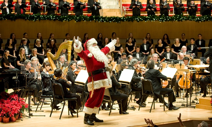 Renee and Henry Segerstrom Concert Hall at the Segerstrom Center for the Arts - South Coast Metro: Tis the Season! at Renee and Henry Segerstrom Concert Hall at the Segerstrom Center for the Arts