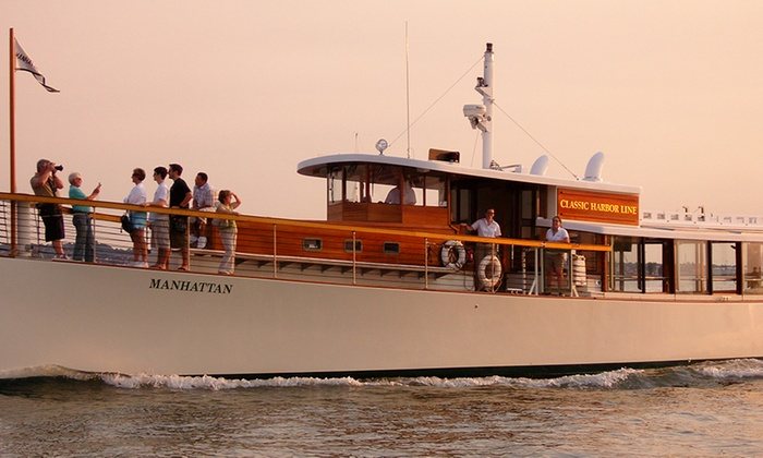 Yacht Manhattan - New York: Champagne Sunset Cruise on Yacht Manhattan