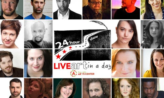 Anacostia Arts Center - Anacostia: LiveArt in a Day at Anacostia Arts Center