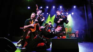 Carpenter Performing Arts Center, CSULB: Red Hot Chilli Pipers at Carpenter Performing Arts Center, CSULB