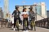 Manhattan and Brooklyn Bridge Bike Rental