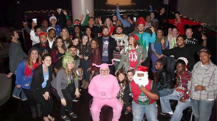 2nd Annual Ugly Sweater Party: Benefit for Inner-City Arts at Club Nokia at LA Live