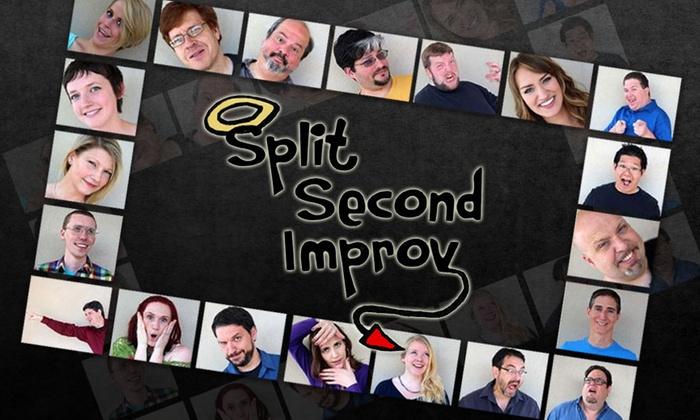 SecondStory Hideaway - Downtown Redmond: Split Second Improv: Family Show at SecondStory Hideaway