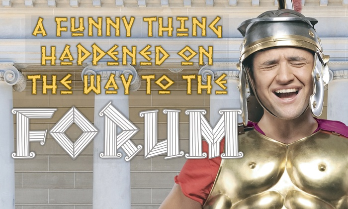 Stoneham Theatre - Nobility Hill: A Funny Thing Happened on the Way to the Forum at Stoneham Theatre
