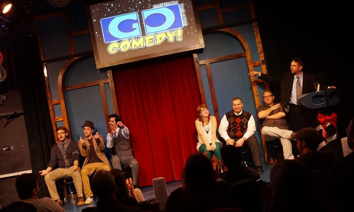 Go Comedy! Improv Theater  - Downtown Ferndale: Improv at Go Comedy at Go Comedy! Improv Theater