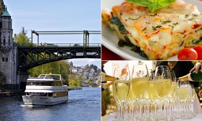 Waterways Cruises  - Wallingford: Seattle Lakes Lunch Cruise: Buffet and Beautiful Views at Waterways Cruises
